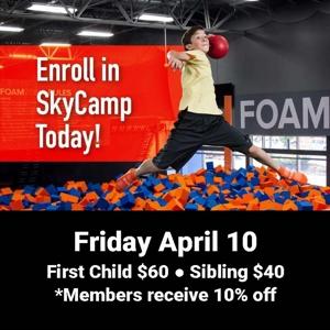 Sky Camp April 10