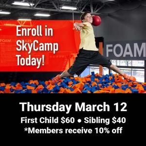 Sky Camp March 12