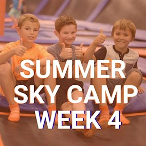 June 15-19 Sky Zone Ninja