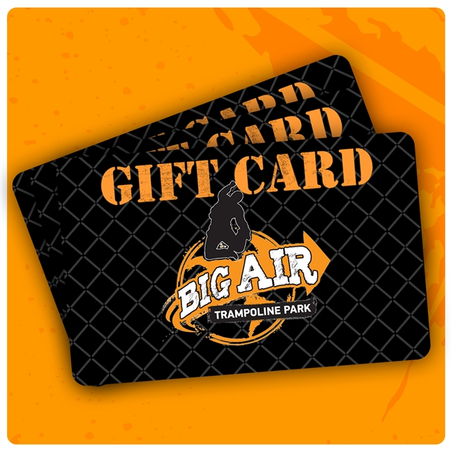 Big Air Gift Card - $50