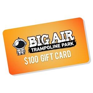 Big Air Gift Card Pick up $100