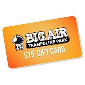 Big Air Gift Card Pick Up- $75