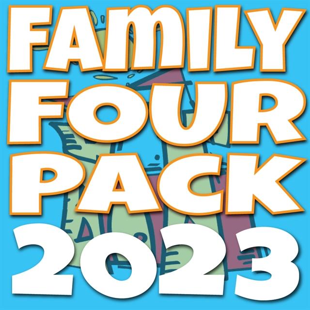 2020 Family 4 Pack - Regular Price $117.00
