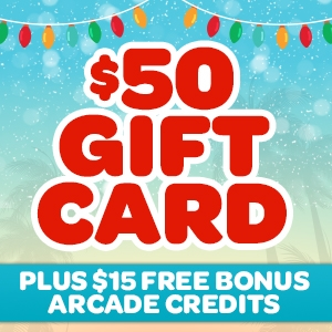 $50 Gift Card (+$15 Bonus Arcade Credits)