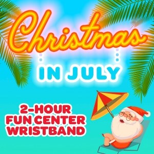 $15.99 Two Hour Band Christmas in July