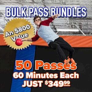 Bulk Passes Bundle 50