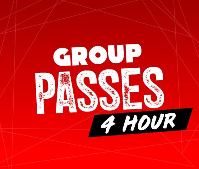 4 Hour Group Pass (No Food)