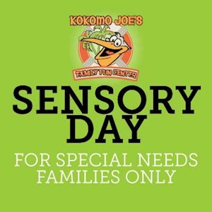 Sensory Day Bounce Beach + $5 Game Card