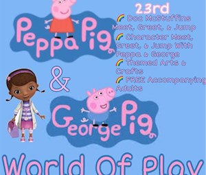 Peppa & Georgie Pig!