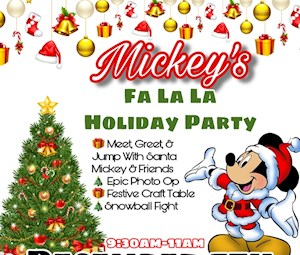 Mickey's Fa La La Holiday