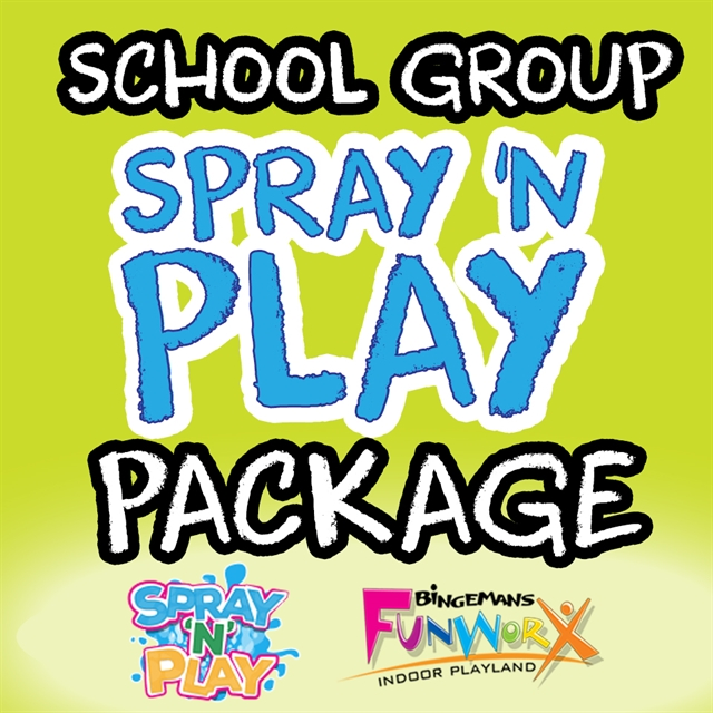 School Group SPRAY 'N PLAY