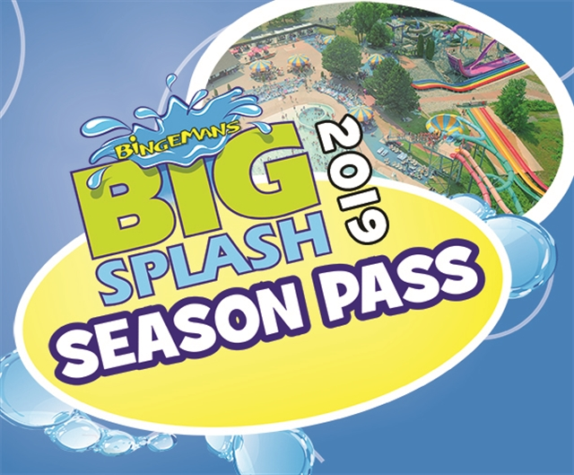 Big Splash Seasons Pass 2019