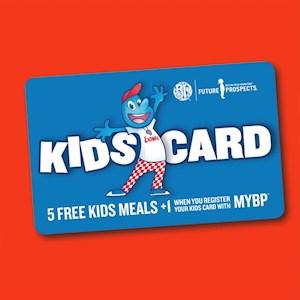 Boston Pizza Kids Card
