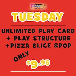 Tuesday Play & Game Special!