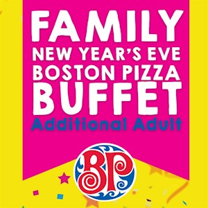 New Year's Eve Boston Pizza Buffet - Additional Adult