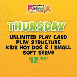 Thursday Play & Game Special!