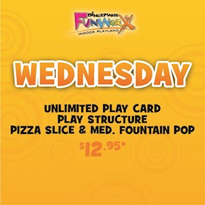 Wednesday Play & Game Special