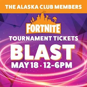 Fortnite Tournament Ticket May 18 TAC Member