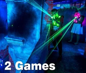 Lasertag 2 Game Reservation