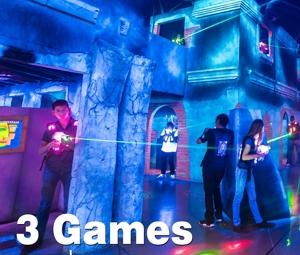Lasertag 3 Game Reservation
