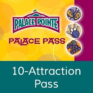 10 Attraction Pass