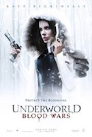 1/6/17  Vampire death dealer, Selene (Kate Beckinsale) fights to end the eternal war between the Lycan clan and the Vampire faction that betrayed her.