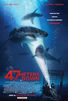 Two sisters vacationing in Mexico are trapped in a shark cage at the bottom of the ocean. With less than an hour of oxygen left and great white sharks circling nearby, they must fight to survive.