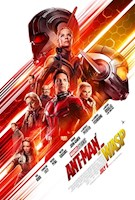 7/6/18  As Scott Lang balances being both a Super Hero and a father, Hope van Dyne and Dr. Hank Pym present an urgent new mission that finds the Ant-Man fighting alongside The Wasp to uncover secrets from their past.