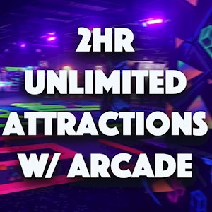 2hr Unlimited w/Arcade