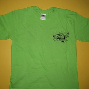Castle T-Shirts Green Youth Medium