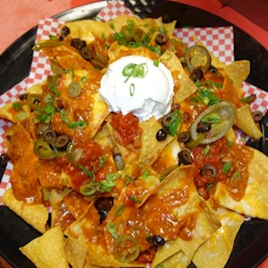 Ultimate Nachos 1/2 Platter