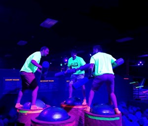 GLOW Jump Party