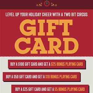 Gift Card $25 special
