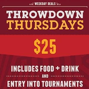Throwdown Thursday