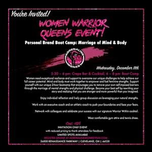 Women Warrior Queens Event - 12/11
