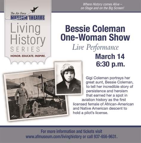 Bessie Coleman One Woman Show