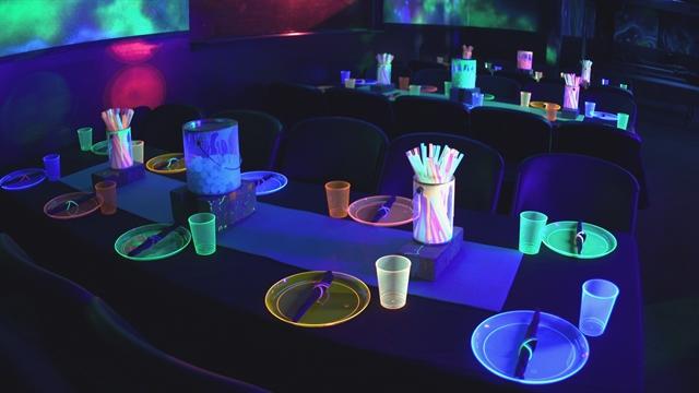 Birthday Glow Party