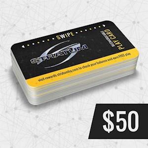 Play Card $50
