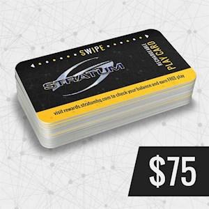 Play Card $75