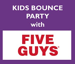 Five Guys Bounce Party