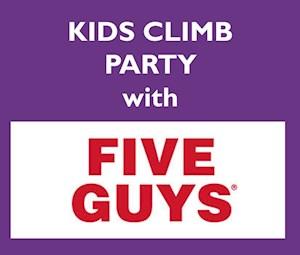 Five Guys Climb Party