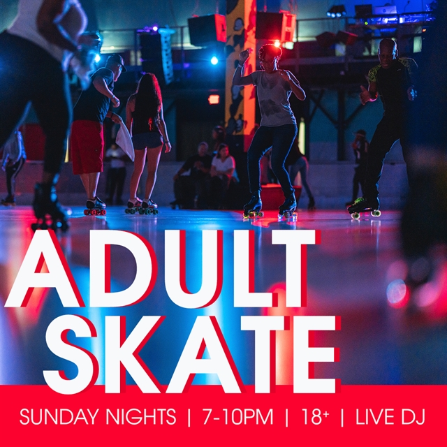 Sunday Adult Skate Night