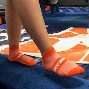 Orange SkySocks