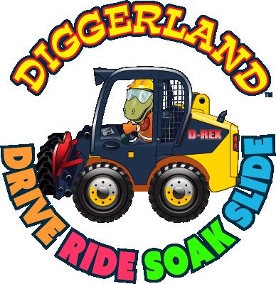 Diggerland USA Round Logo
