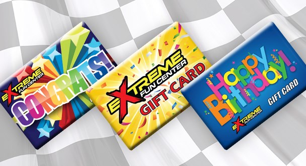 Gift Cards, Arcade Cards, & More!