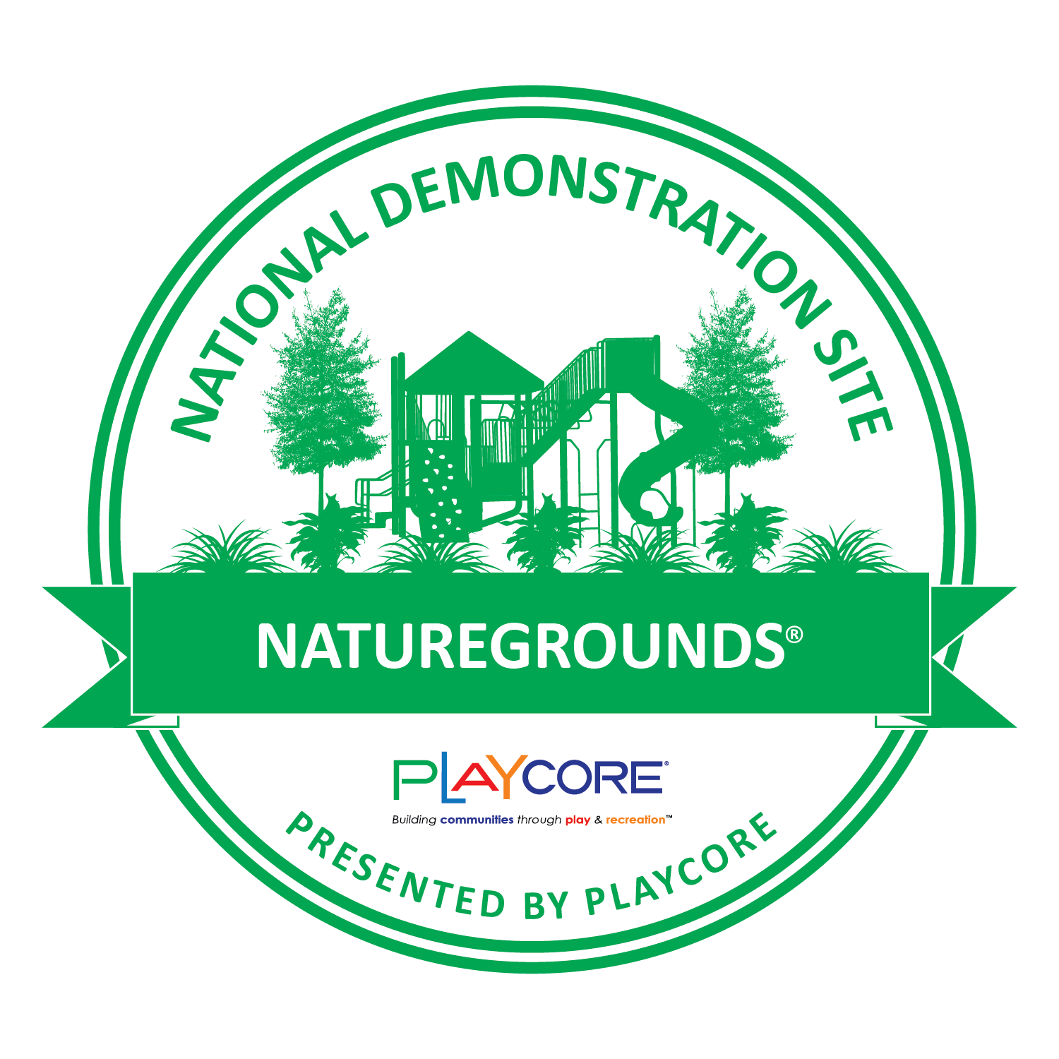 National Demonstration Site Seal - NatureGrounds