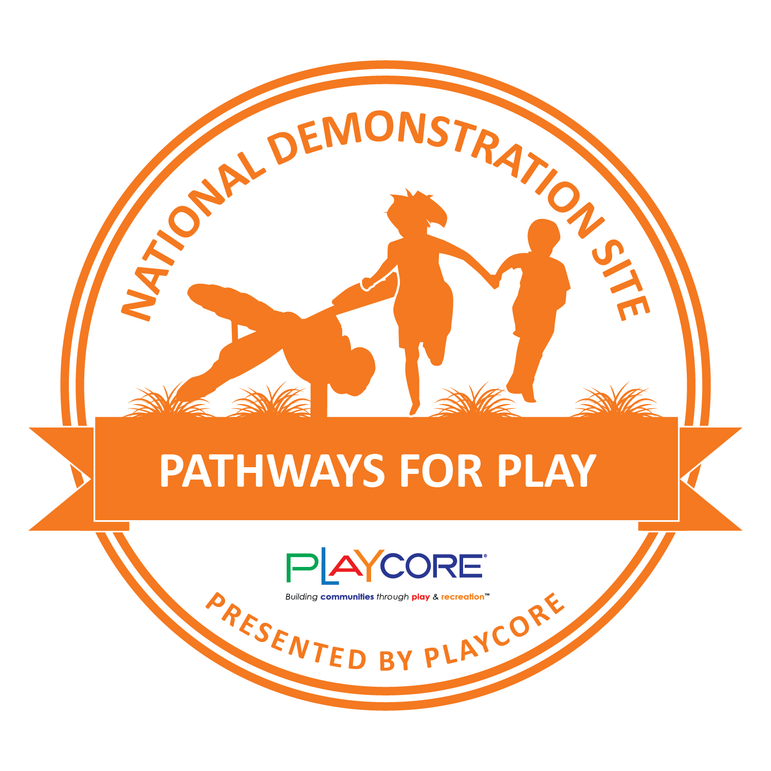 National Demonstration Site Seal - Pathways for Play