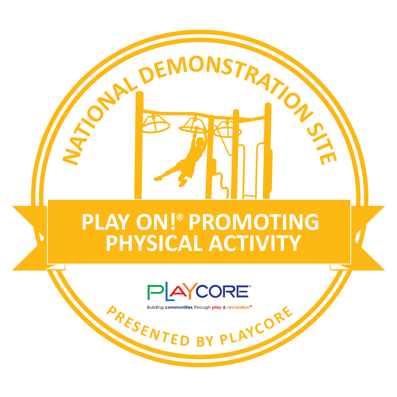National Demonstration Site Seal - Youth Physical Fitness