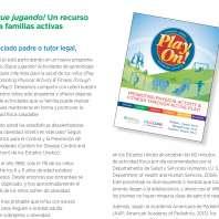 Play On Send Home Resource Screenshot Spanish