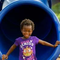 Girl In Slide